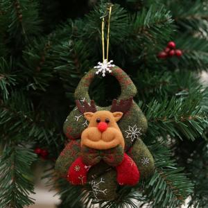 Vianočný závesná dekorácia strom Varianta: 3