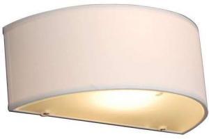 Vidiecka nástenná lampa s okrúhlym krémom - Drum