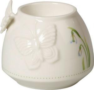 Villeroy & Boch Colourful Spring malý svietnik na čajovú sviečku, motýľ