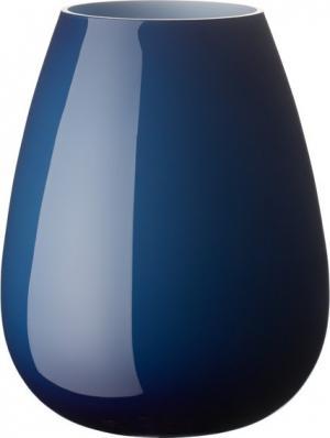 Villeroy & Boch Drop sklenená váza midnight Sky, 23 cm