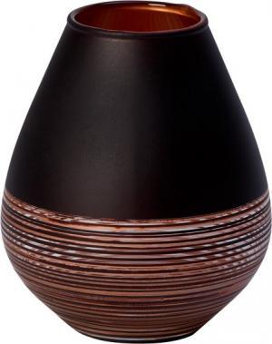 Villeroy & Boch Manufacture Swirl sklenená váza, 12 cm