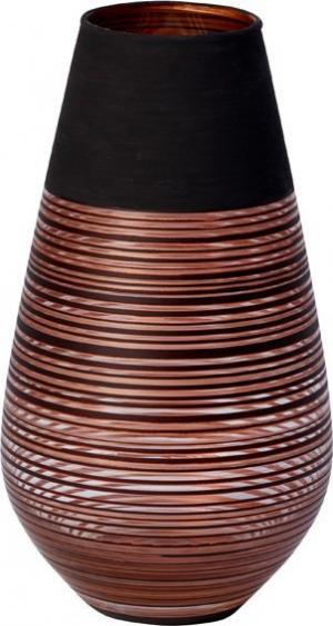 Villeroy & Boch Manufacture Swirl sklenená váza, 18 cm