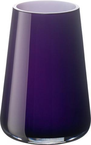 Villeroy & Boch Numa sklenená váza dark lilac, 20 cm