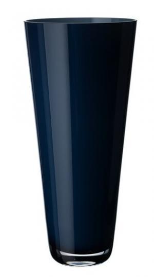 Villeroy & Boch Verso sklenená váza midnight sky, 38 cm
