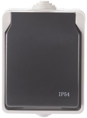 Vonkajšia zásuvka FRENCH 250V/16A IP54