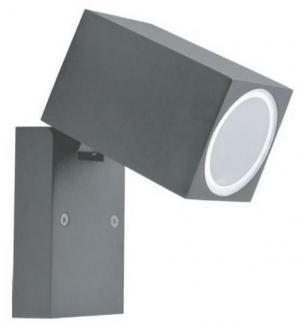 Vonkajšie nástenné svietidlo 1xGU10/35W/230V IP44 šedá
