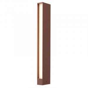 Vonkajšie stojanové svietidlo REDO TWIN  hnedá IP54  9471