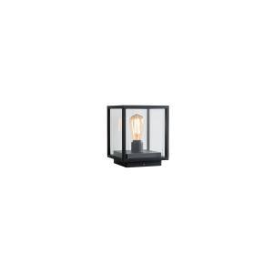 Vonkajšie stojanové svietidlo REDO VITRA CD čierna IP54 9109