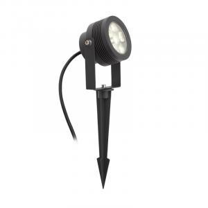 Vonkajšie svietidlo s bodcom do zeme REDO FARO antracit IP54 9306