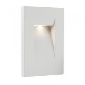 Vonkajšie svietidlo vstavané do fasády REDO INNER AP biela IP65 9548