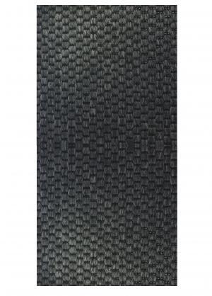 Vopi koberce Běhoun na míru Nature antracit - šíře 40 cm s obšitím
