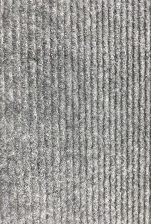 Vopi koberce Běhoun na míru Quick step šedý - šíře 80 cm