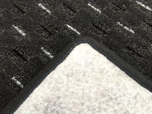 Vopi koberce Běhoun na míru Valencia antracit - šíře 133 cm s obšitím
