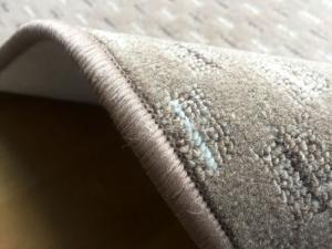 Vopi koberce Běhoun na míru Valencia béžová - šíře 100 cm s obšitím