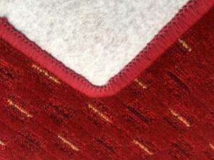 Vopi koberce Běhoun na míru Valencia červená - šíře 100 cm s obšitím