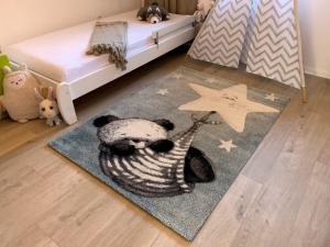 Vopi koberce Dětský koberec Kiddo A1083 blue - 80x150 cm
