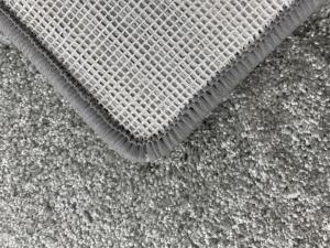 Vopi koberce Kusový čtvercový koberec Udine šedý - 60x60 cm
