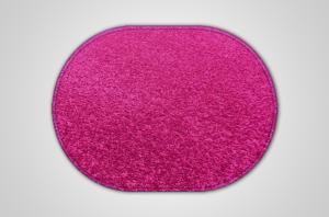 Vopi koberce Kusový fialový koberec Eton ovál - 57x120 cm