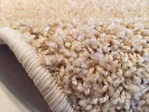 Vopi koberce Kusový koberec Color shaggy béžový ovál - 57x120 cm