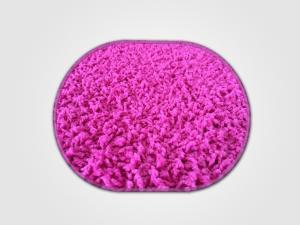 Vopi koberce Kusový koberec Color shaggy růžový ovál - 200x300 cm