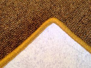 Vopi koberce Kusový koberec Modena zlatohnědá čtverec - 300x300 cm