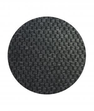 Vopi koberce Kusový koberec Nature antracit kulatý - 200x200 (průměr) kruh cm