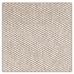 Vopi koberce Kusový koberec Nature světle béžový čtverec - 150x150 cm