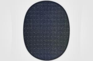 Vopi koberce Kusový koberec Udinese antracit ovál - 80x150 cm