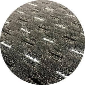 Vopi koberce Kusový koberec Valencia antracit kulatý - 160x160 (průměr) kruh cm