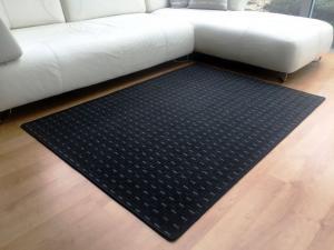 Vopi koberce Kusový koberec Valencia antracit - 57x120 cm