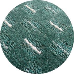 Vopi koberce Kusový koberec Valencia zelená kulatý - 67x67 (průměr) kruh cm