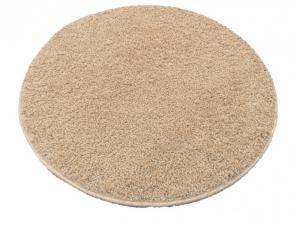 Vopi koberce Kusový kulatý koberec Color shaggy béžový - 100x100 (průměr) kruh cm
