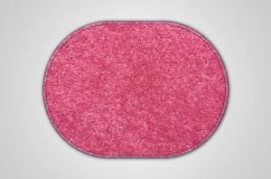 Vopi koberce Kusový růžový koberec Eton ovál - 140x200 cm