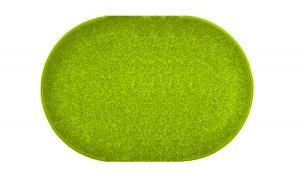 Vopi koberce Kusový zelený koberec Eton ovál - 140x200 cm