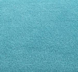 Vorwerk Metrážový koberec Bingo 3K11 tyrkysová - Rozměr na míru s obšitím cm