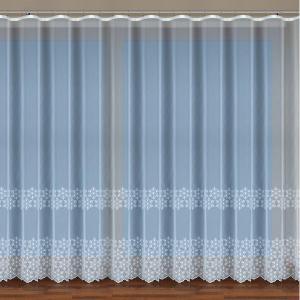 Vyšívaná záclona p2-11-20-69-62 biela/280. Tovar na mieru
