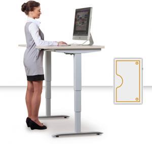 Výškovo nastaviteľné stoly Motion Ergo 3 - Podla výberu, Elektrický zdvih, 1800 mm, 610 - 1280 mm, 900 mm, pamaťový ovládač