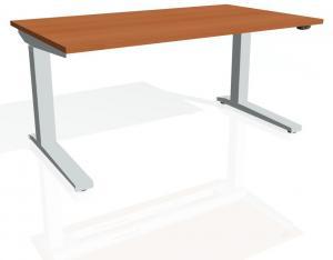 Výškovo nastaviteľný stôl exvizit - Podla výberu, Elektrický zdvih, 1200 mm, 650 - 1320 mm, 800 mm, základný ovládač