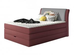 Vysoká postel AMALFI Rozměr: 140 x 200 cm, Skupina látek: III. skupina