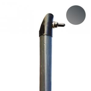 Vzpera antracitová (vrátane komponentov) Vzpera priemer:38mm výška:1,5m