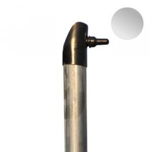 Vzpera pozinkovaná (vrátane komponentov) Vzpera priemer:38mm výška:2,0m