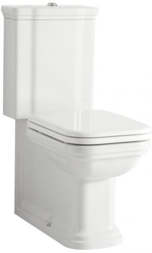 Waldorf WCset04 kombi WC, spodný/zadný odpad