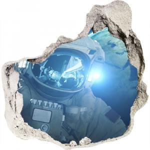 WALLMURALIA Foto fotografie diera na stenu Kozmonaut 75x75 cm