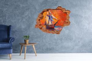 WALLMURALIA Foto fotografie diera na stenu Vesmírna loď 90x70 cm