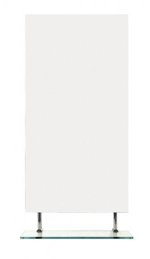 Wega 60092-4 zrkadlo 40x80 cm, s policou