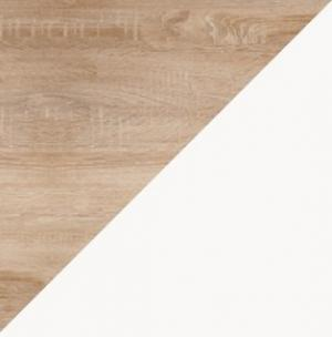 WIP Jednolôžková posteľ KITTY 05 / bez roštu Farba: craft biely / grafit