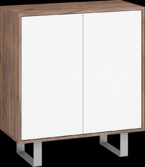 WIP Komoda King 03 Farba: Sonoma svetlá / biely lesk