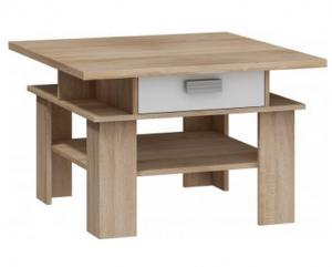 WIP Konferenčný stolík SOLO SOL 03 Farba: Craft tobaco / craft biely