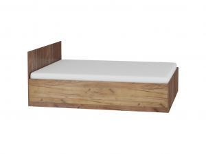 WIP Manželská posteľ Maximus MXS-18 Farba: Dub ARTISAN/biela lesk