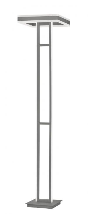 WOFI Stojací lampa KEMI 1x LED 105W 7200lm 3000K tmavě šedá 3226.02.88.9600